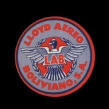 Airline luggage label  Lloyd of Bolivia RARE #552